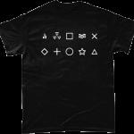 Radiation Symbols T-shirt